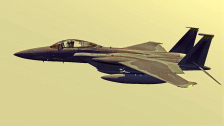 f15c战斗机模型动画