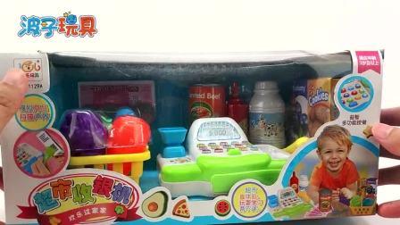 小猪佩奇的超市收银机过家家玩具