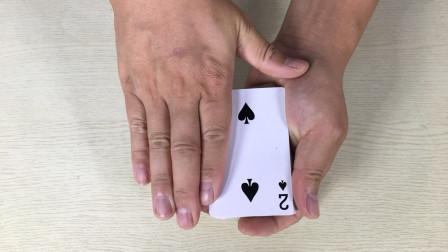 为什么扑克牌摩擦一下,观众想要什么牌就来什么牌?方法很简单