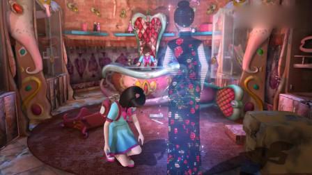 精灵梦叶罗丽:大姐姐突然出现,王默激动想摸她,摔倒在地上