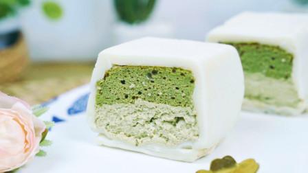 抹茶白玉卷的做法,颜值高味道好,比冰淇淋还好吃