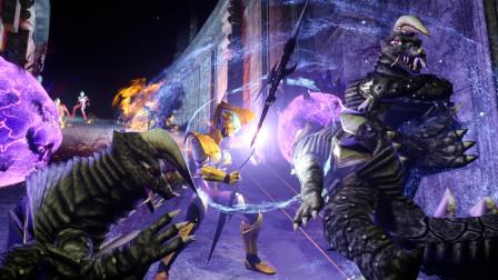 捷德历险记61:捷德在遗迹中探寻,遭遇马格马星人和怪兽围追堵截