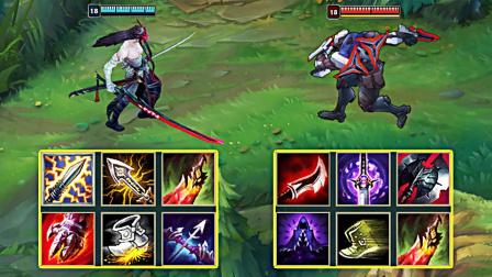 LOL:神装永恩vs神装劫,哪个英雄更强?