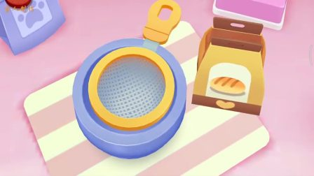 宝宝巴士游戏解说奇妙蛋糕店做蛋挞