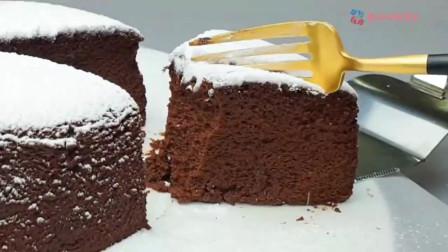 巧克力芝士蛋糕,香醇中带点微苦,巧克力控不可不做的美食之一哟