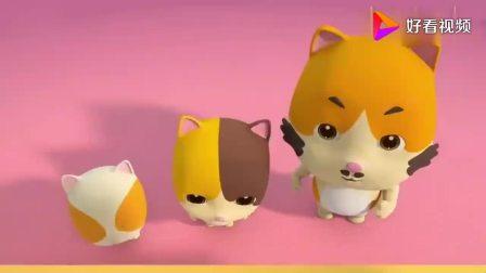 宝宝巴士:小猫一家买汉堡,香喷喷的大汉堡竟然会跳舞