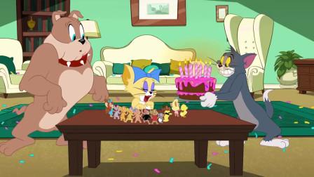 猫和老鼠:生日派对 汤姆做的蛋糕