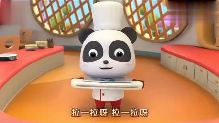 宝宝巴士美食总动员小熊猫宝宝是个 面馆小厨师教大家怎么做面食