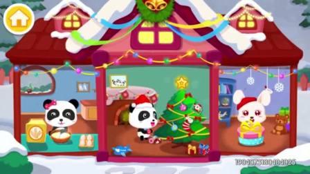 宝宝巴士亲子游戏—欢乐圣诞,一起装扮圣诞树让宝宝发挥创意