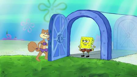 搞笑动画:小海绵是一个疯狂的追星族,连煎铲都是偶像的造型