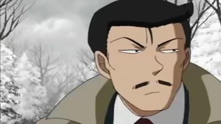 名侦探柯南:柯南好机智!一口咬住大哥哥手指,免得小兰心疼他