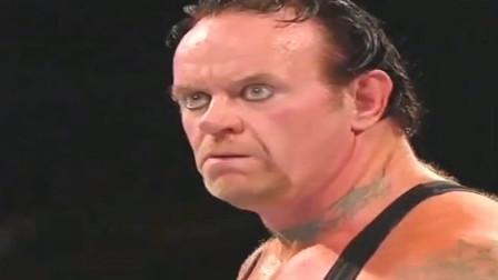 WWE:全员出动不能阻挡送葬者vs布洛克,两位如怪物般存在的男人