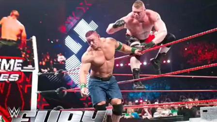 WWE:16次高飞痛苦着地,大布两次失误险些生涯报销!