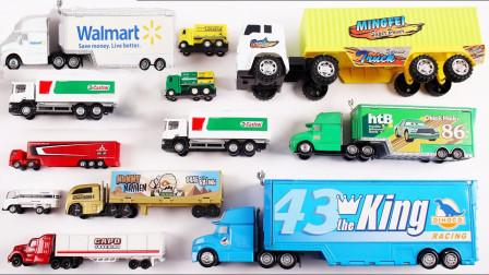 汽车模型玩具拆盒展示