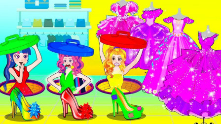 阿坤给紫悦设计了新发型,太搞笑了吧 小马国女孩游戏