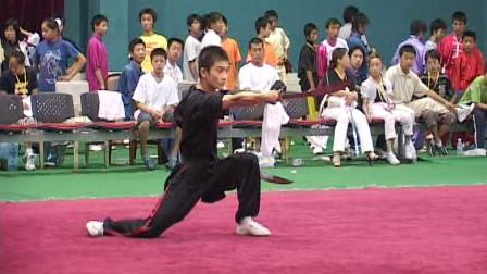 尘封赛事 2005年第五届全国武术馆校武术比赛 套路比赛 032 双刀
