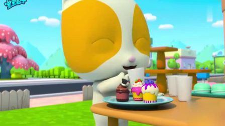 宝宝巴士:杯子蛋糕历险记,团结的力量真的是太强大了啊