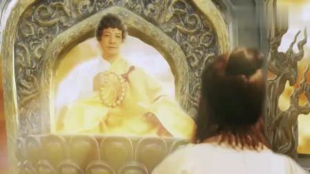 佛祖说金蝉子蠢,金蝉子开始反驳,众罗汉和菩萨赶忙捂住耳朵