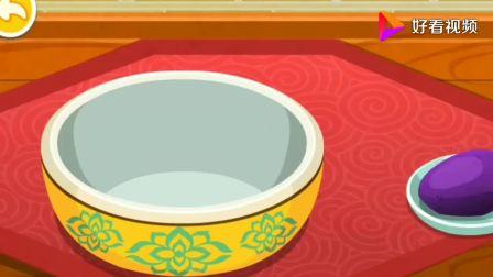 做月饼前要准备哪些材料?跟着奇奇来学习一下,宝宝巴士游戏