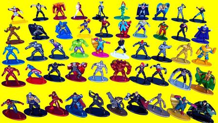 超级英雄美国队长、钢铁侠、雷神、漫威奇趣玩具大集合,越看越好玩