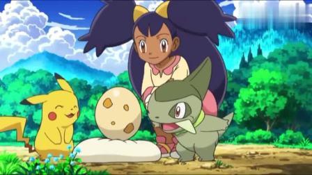 神奇宝贝:蛋孵化啦!皮卡丘要当哥哥,小智获得一个新的宝可梦