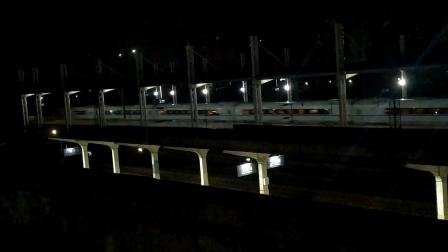 2020年8月3日,G1183次(宣城站—广州南站)本务中国铁路广州局集团有限公司广州动车段长沙动车运用所CRH3C型重联广州北站通过