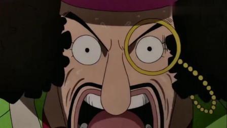 海贼:草帽一伙面对火山喷发无可奈何,对青雉来说小事一桩