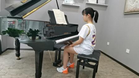 圣莱茵学员牛欣怡演奏中国音乐学院四级考级选曲车尔尼练习曲  导师:李晓晶