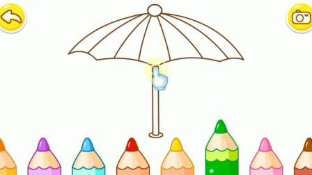 坏女巫抢走了颜色,奇奇请来彩色画笔来帮忙?宝宝巴士涂色游戏