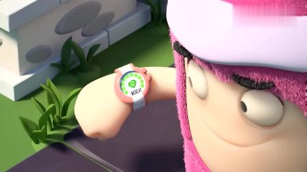 奇宝萌兵:小绿追冰淇淋车晕倒路边,小粉一测心率吓坏了!