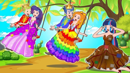 怎样让紫悦公主开心呢?小马国女孩游戏