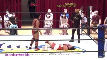 日本女子摔角WAVE-2020.7.19HIRO'e vs里村明衣子 -新潟