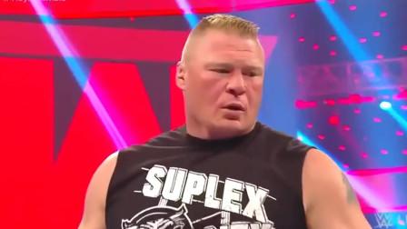 WWE:真理罗恩在大布面前拽,结果惨遭F5!