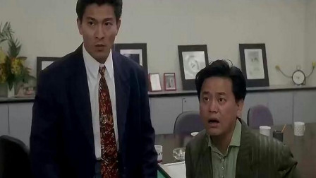 陈百祥不愧是香港电影中的黄金配角,这段刘德华笑场了