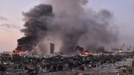 黎巴嫩首都爆炸已致78人死亡数千人受伤10公里外总统府建筑受损