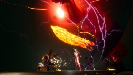 捷德历险记63:捷德奥特曼来到遗迹大厅,遭遇巨型火焰巨人