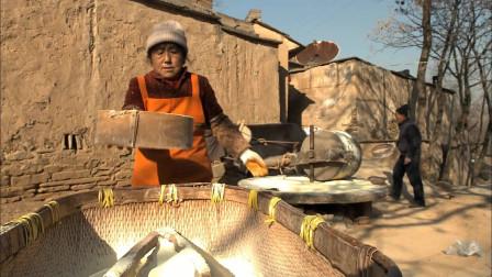 舌尖上的中国:这种口感略差的本土食物,是陕北人最家常的主食