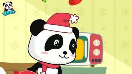 宝宝巴士欢乐圣诞—圣诞节好吃的甜甜圈和姜饼人,能说会跳好奇妙