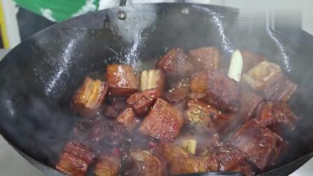 农村土豪买9斤樱桃8斤肉,做樱桃红烧肉,香而不腻