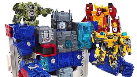 经典变形金刚擎天柱机器人玩具变形