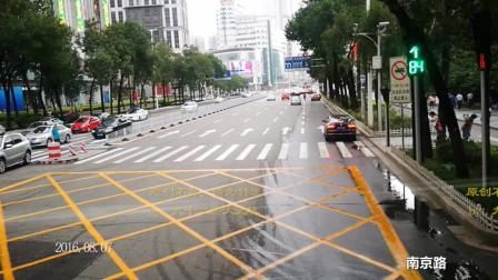 看城市变化,听城市声音——天津双层公交643行车视频,山西路-营口道