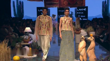 Shibani Dandekar 2020印度成衣时装秀