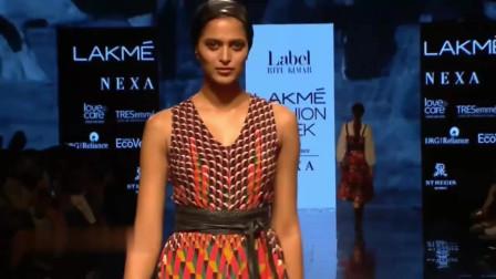 Tara Sutaria 2020印度模特成衣时装秀