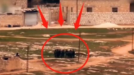 实拍叙利亚战场画面,只有两个人幸免于难!