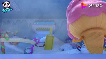 宝宝巴士:芒果冰淇淋好厉害,滑雪玩的真好,怪不得受欢迎