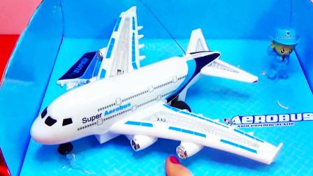 最新款的电动发光的遥控玩具飞机