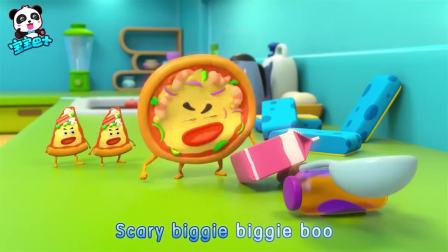 宝宝巴士:披萨太烦人了,竟然霸占游戏场所,汉堡想到好点子