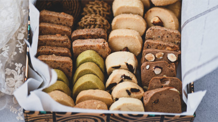 暖心又甜蜜的手工曲奇饼干礼盒一定要学会