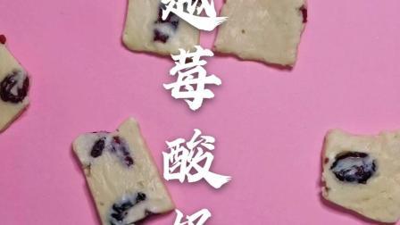 甜蜜儒初恋,自制蔓越莓酸奶片