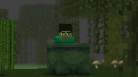 我的世界动画-史蒂夫变了-iCraft